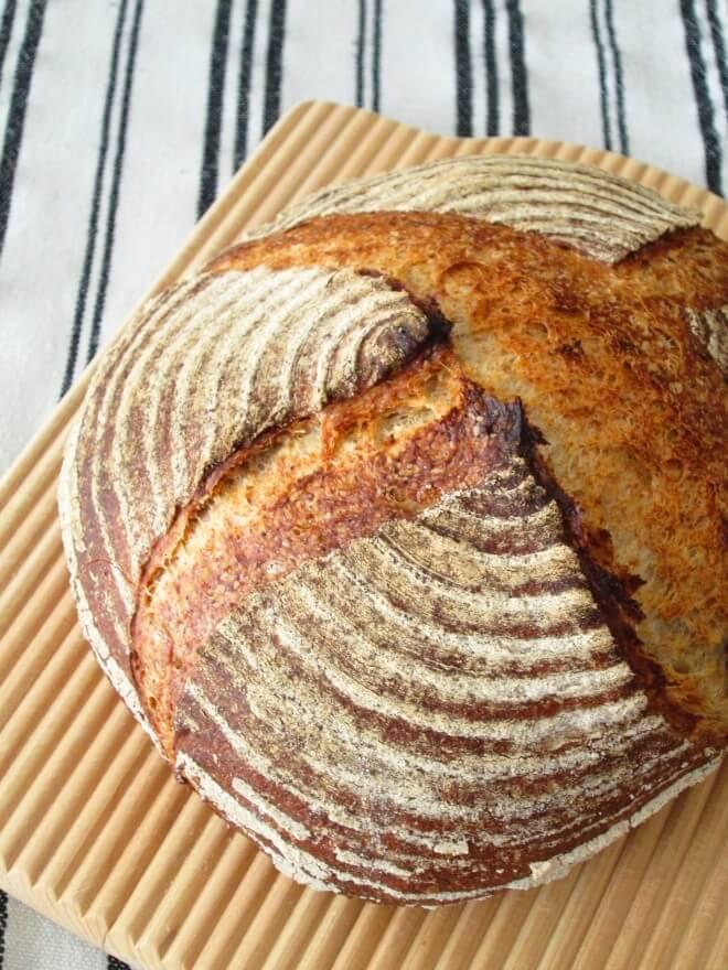 とかち野酵母のパン・ペイザン