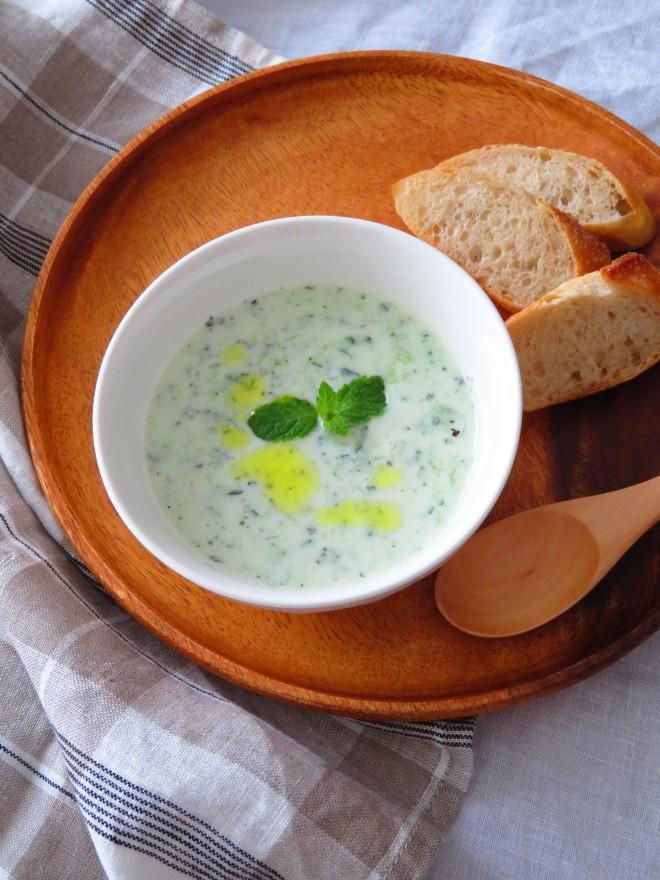 きゅうりの冷たいスープ