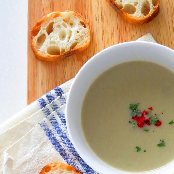 なすのスープ