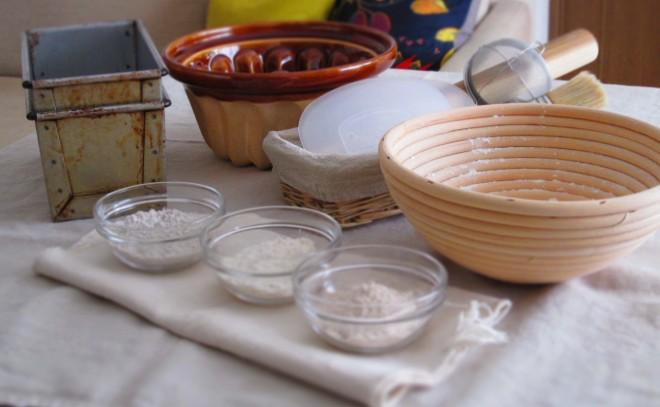 Pleasant-Bread-パン作りの道具たち