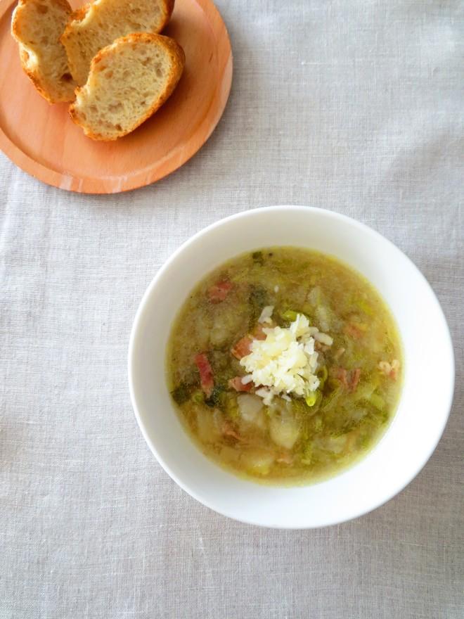 長ねぎとじゃがいものスープ