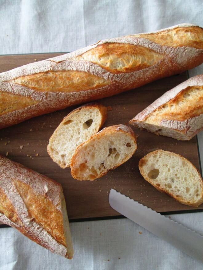 スペルト小麦のバゲット