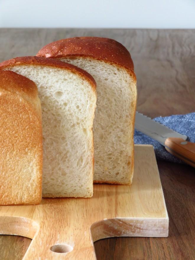 スペルト小麦の湯種食パン